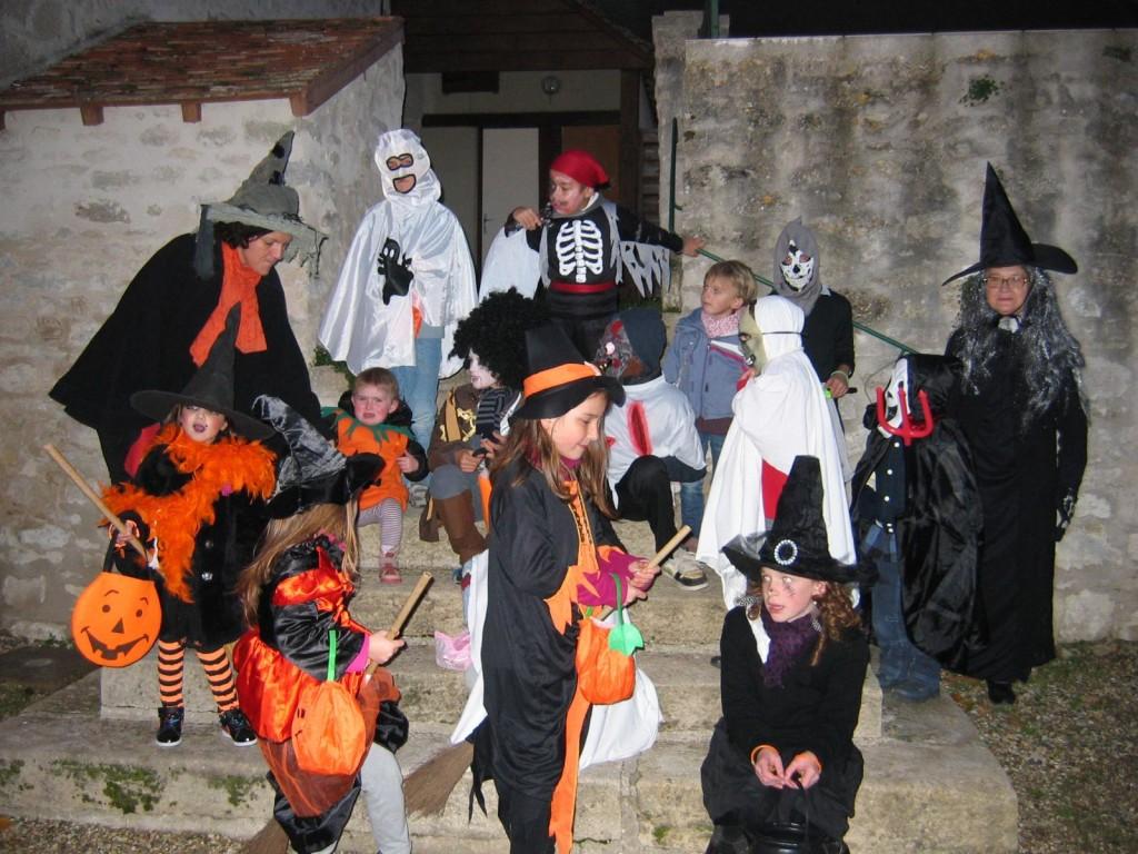 Halloween au foyer rural de Chérence