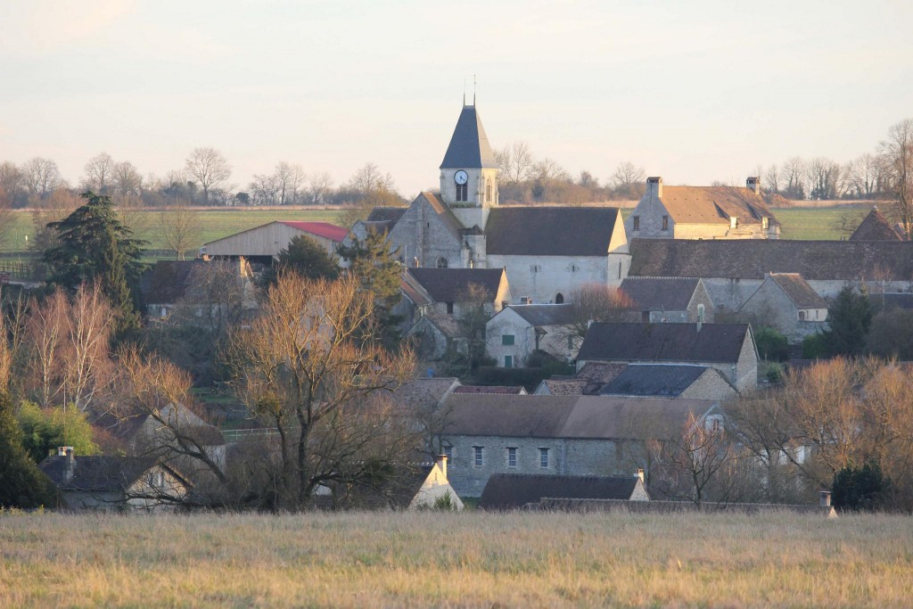 Village de Chérence dans le Val d'Oise