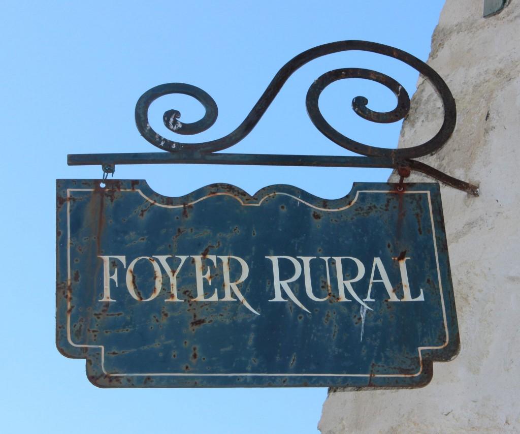 Foyer rural de Chérence
